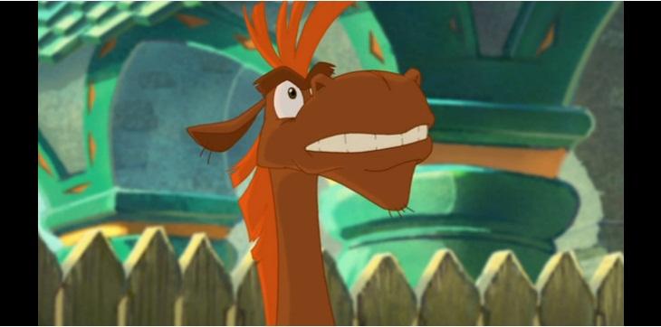Кадр из мультфильма Три богатыря и Шамаханская царица